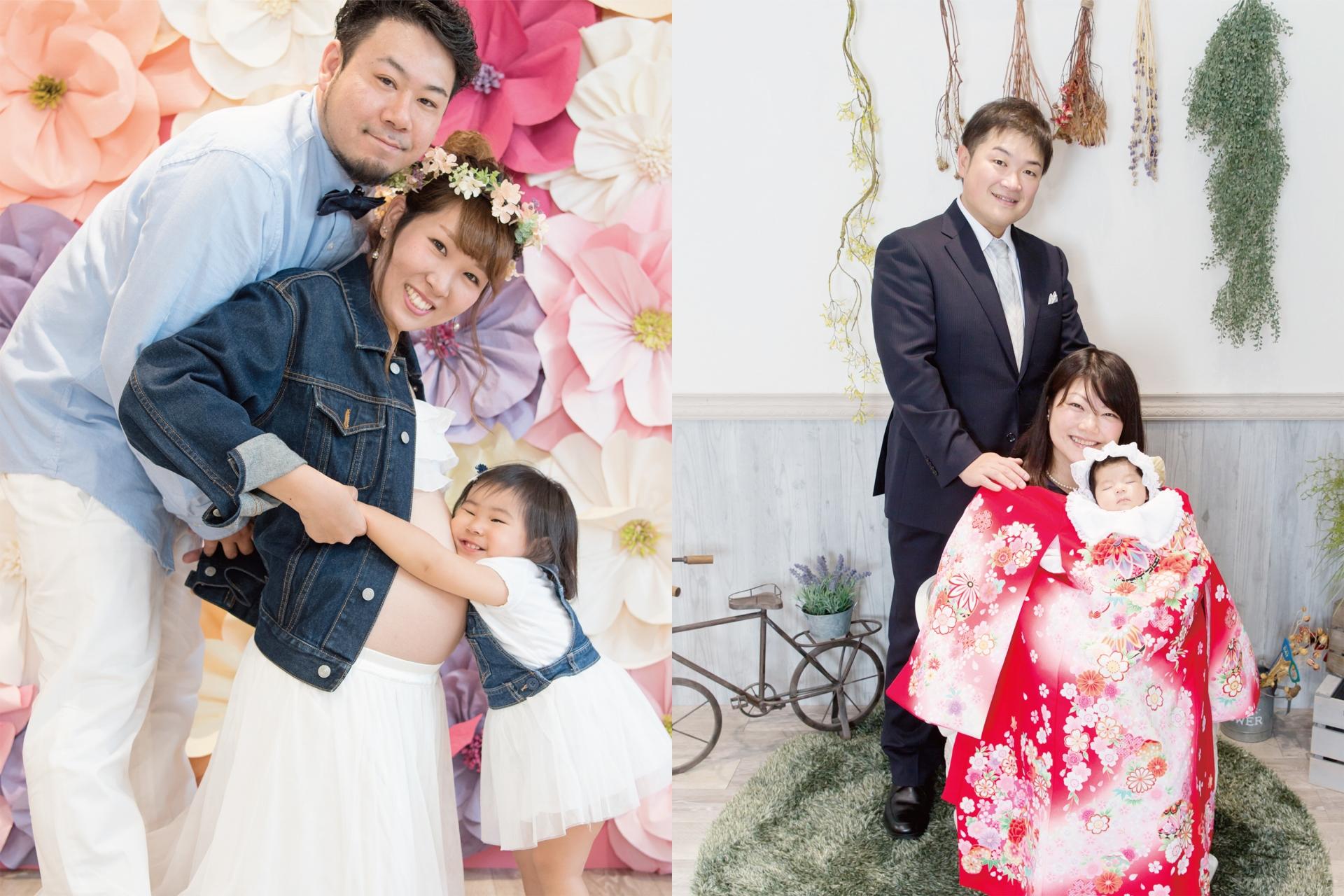 マタニティ&お宮参りセットプラン